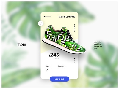 Mojo App Product Page