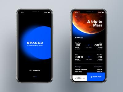 S P A C E D _ App Concept