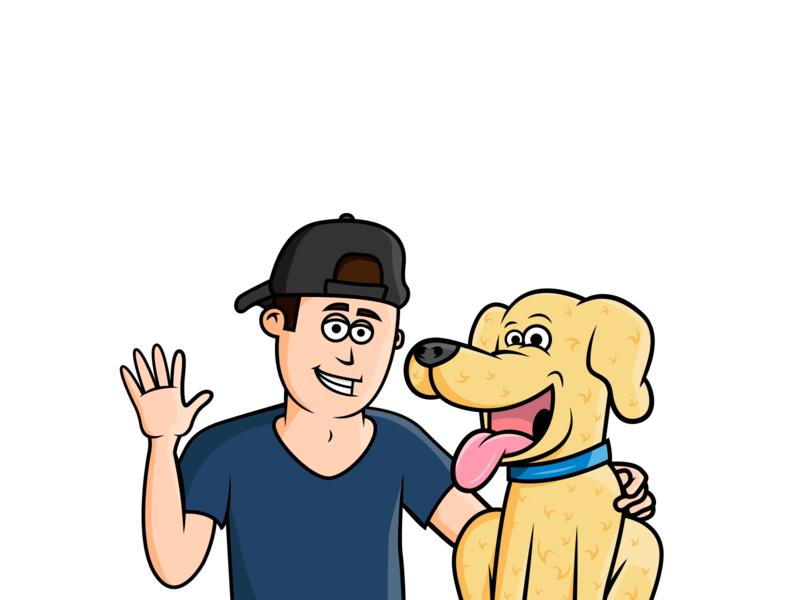 Finn and Jake Illustration