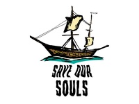 Save Our Souls Boat Logo