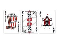 Freak Show Card Designs
