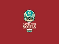 Save Our Souls Skull Concept B