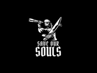 Save Our Souls Pirate Logo