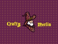 Crafty Merlin Logo
