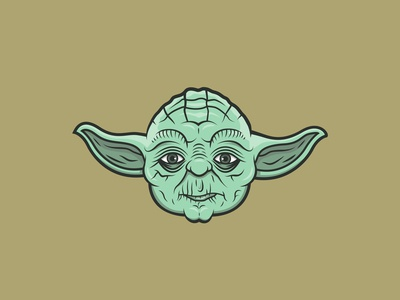 Yoda Illustration