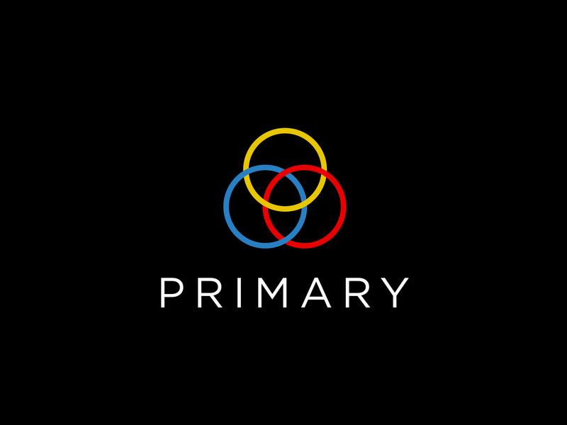 Primary Logo colours primary brand and identity branding typography logo icon ai vector design