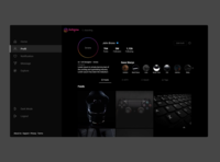 Instagram Dark Mode - Concept Design