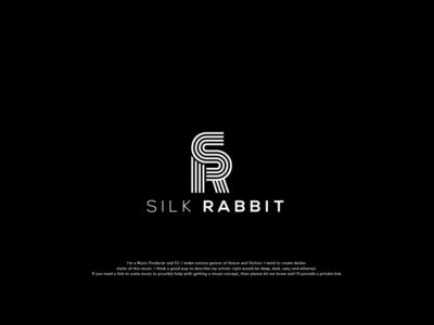 Silk Rabbit (S + R) corporate branding icon brand branding typography identity design logo