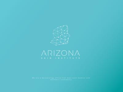 ARIZONA icon brand branding typography identity design logo skin skincare
