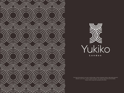Yukiko London corporate branding illustration brand branding streetwear clothing design clothing brand identity design typography logo
