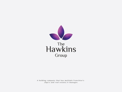 The Hawking Group spa company spa company spa flower spa logo icon logo spa