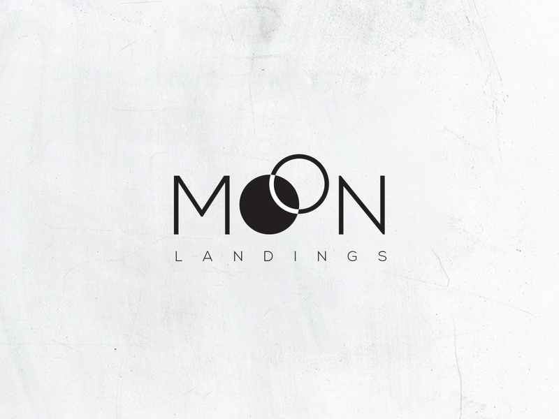 MOON LANDING fashion design fashion brand moons moon identity branding brand typography design logo