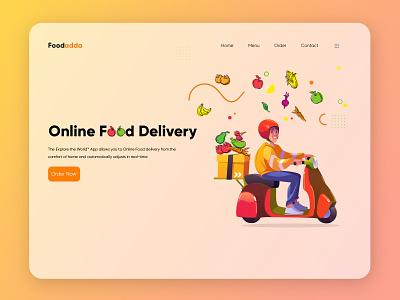 Food Delivery App food ordering app food ordering food online foodie food and drink ux ui food food service food delivery food app