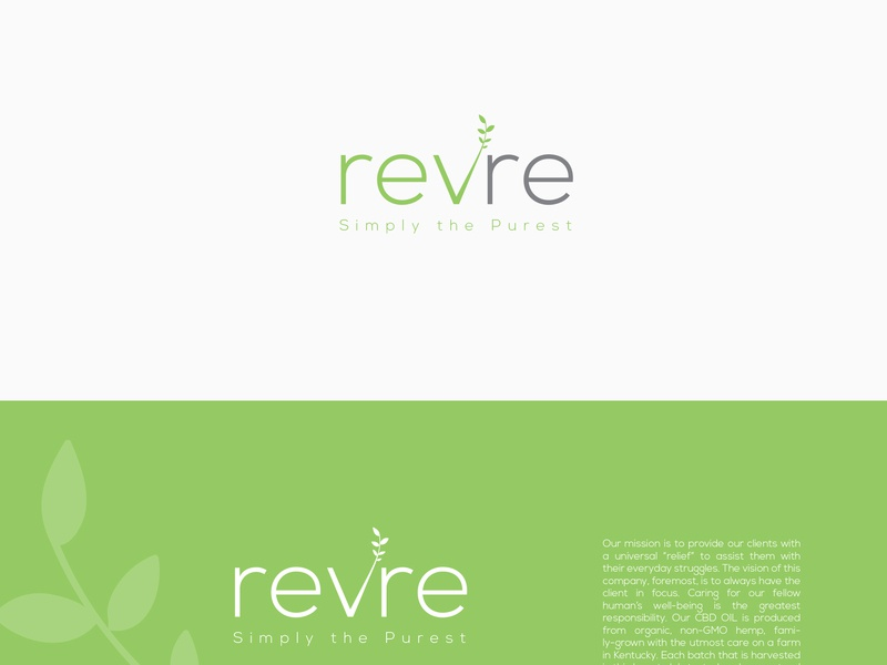 Revre brand cosmetic cosmetic packaging cosmetology logo branding identity typography