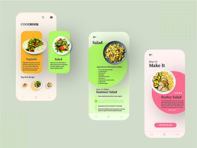 Cookbook (learn cooking app)