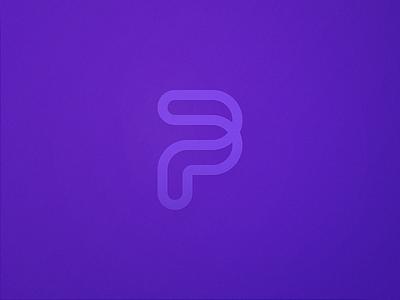 P is for Prodelec purple 2018 logo p letter