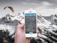 App for ASI GPS instrument for Paragliding