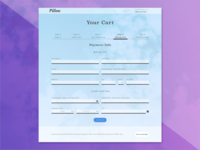 UI Challenge 002: Credit Card Check Out Screen