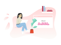 Hello Dribbble! Nice to meet you