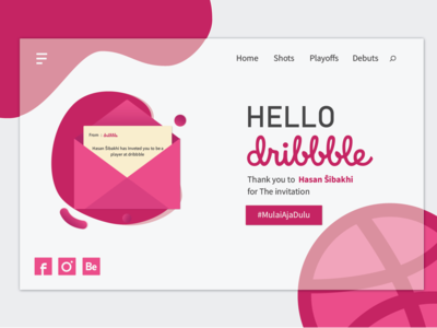 thanks for Dribbble player