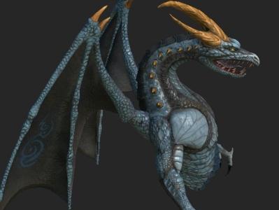 Dragon 3D Model 3d model dragon