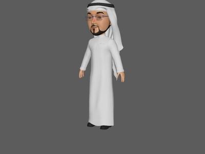 Prince 3D Model 1