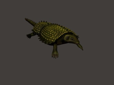 Hylaeosaurus 3D Model 3d model