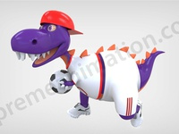 Football Dino