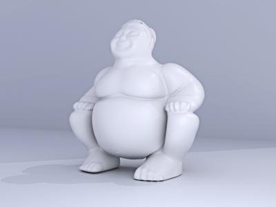 Sumo 3D Render