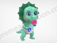 Baby Dino Render