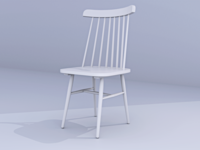 Chair 3D Render