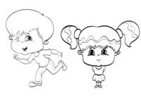 Kids Concept Sketch