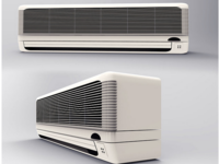 Air Conditioner 3D Design