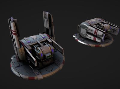 Low Poly 3D Model