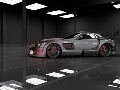 Car 3D Render