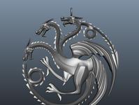 3D Dragon Pendant