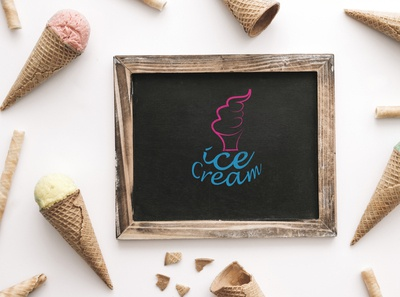 Board Ice cream Logo