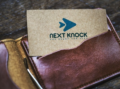 Next Knock Logo Show in Business Card