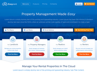 Easyrent Homepage