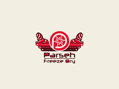 Parseh Freeze Dry icon branding illustrator persia persian design logo design vector ancient persia ancient lion symbol logo parseh