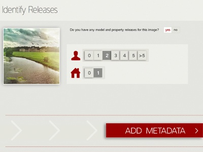 Identify Releases metadata identify releases upload images