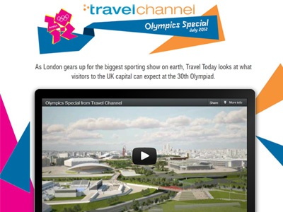 Travel Channel - Olympics Special olympics css3