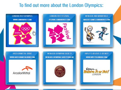 Olympics Css3 hover box inset  olympics css3