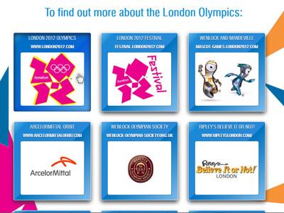 Olympics Css3 hover box inset  olympics css3