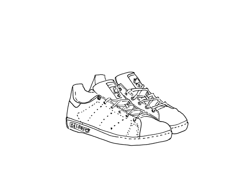Adidas Stan Smith by Christelle Teissier on Dribbble