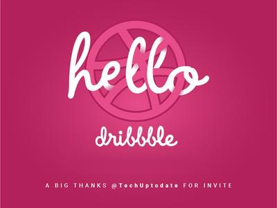 Hello Dribbble 🙋🏻♂️