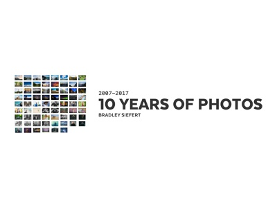10 Years Photo Book book web photography