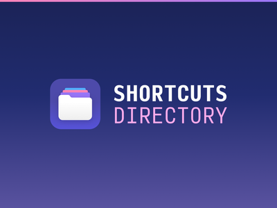 Shortcuts Directory Logo illustration branding logo