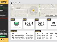 Bikespike.com dashboard