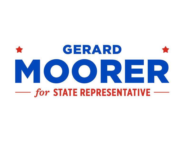 Gerard Moorer Campaign Logo #1